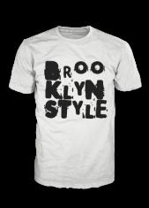 Brooklyn Style Unlimited Logo Black on White Tshirt BB000001