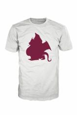 Brooklyn Dragon Original Logo T-Shirt Purple on White BD000002