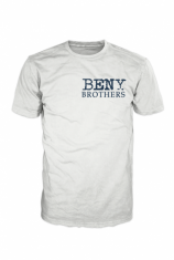 BENY Brothers Original Logo T-Shirt Blue on White BB000001