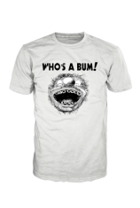 New York Bum Limited Edition T-Shirt WHO IS A BUM! With Wording BM000010