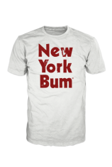 New York Bum Original Logo T-Shirt Unlimited Edition #NBORIGINAL